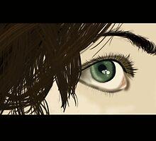 Green Eyes by BrightBrownEyes