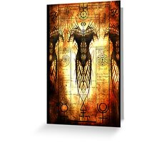 Alchemical Reaction by Jesse Lindsay 2011 Greeting Card