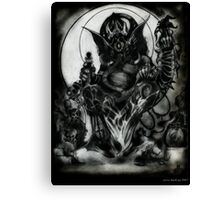 Ganesh by Jesse Lindsay 2011 Canvas Print