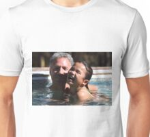 Husband and Daughter having fun Unisex T-Shirt