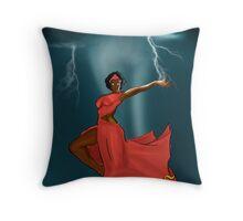 Orisha Iansa Throw Pillow