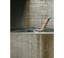 the plunge ............... Photographic Print