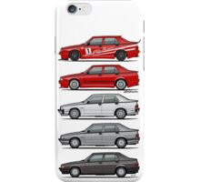 Stack of Alfa Romeo 75 Tipo 161, 162B Milanos  iPhone Case/Skin