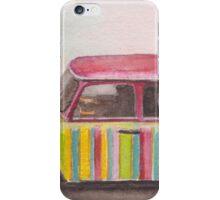 Rainbow-coloured Trabant in Berlin iPhone Case/Skin