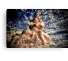 Swan Bride Canvas Print