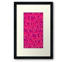 Mood Slime Framed Print