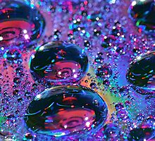 Rainbow Drops HDR by Tori Snow