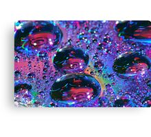 Rainbow Drops HDR Canvas Print