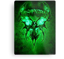 Absinthe Fairy 002 by Jesse Lindsay 2011 Metal Print