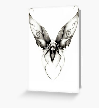 Ghost Fairy by Jesse Lindsay 2011 Greeting Card