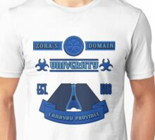 Legend of Zelda - Zora's Domain University  Unisex T-Shirt