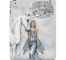 A Little White Magic iPad Case/Skin