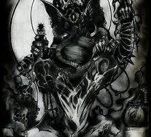 Ganesha by Jesse Lindsay 2011 by jesse lindsay