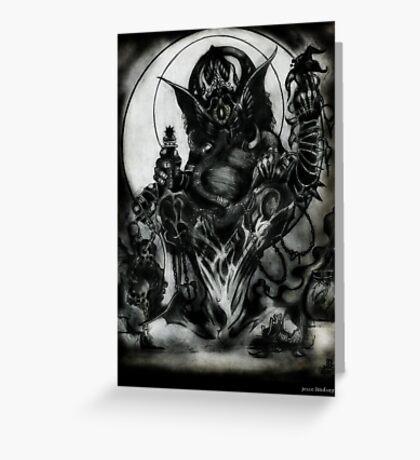Ganesha by Jesse Lindsay 2011 Greeting Card