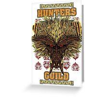 Hunters Guild - Rajang Greeting Card