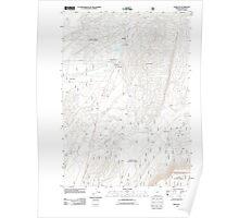 USGS Topo Map Oregon Crescent 20110818 TM Poster