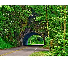 Tunnel to Cades Cove Photographic Print