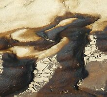 Beach Abstract by Redviolin