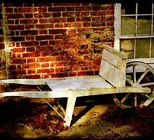 An Old Wheelbarrow, An Ancient House by SummerJade