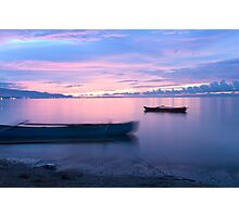 AREIA BRANCA BEACH - Dili's night life is filled with beauty & mystery Photographic Print