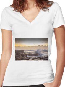 Rush Women's Fitted V-Neck T-Shirt