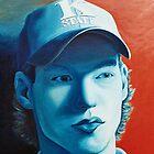 Shane Highfill, Self Portrait by Shane Highfill