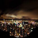 Hong Kong Skyline by Daniel Chang