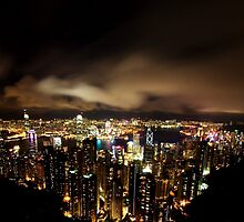 Hong Kong Skyline by Daniel Chang