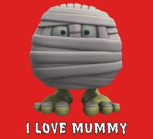 I Love Mummy One Piece - Short Sleeve