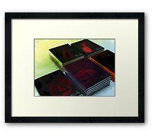 H.G. Wells (Book Cover Set) Framed Print