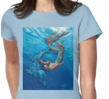 Merman Womens Fitted T-Shirt