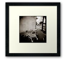 { a sense of abandonement } Framed Print
