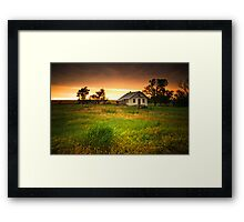 Abandoned In The Storm Framed Print