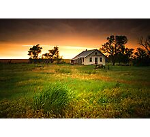 Abandoned In The Storm Photographic Print