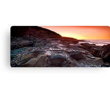 sunrise-crowdy head-nsw mid north coast Canvas Print