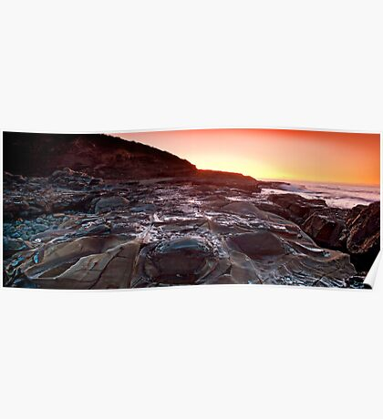 sunrise-crowdy head-nsw mid north coast Poster