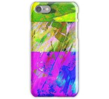 You've Got To Fight For Your Right To Abstract! iPhone Case/Skin