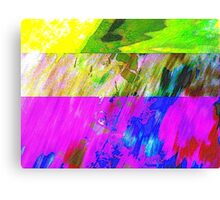 You've Got To Fight For Your Right To Abstract! Canvas Print