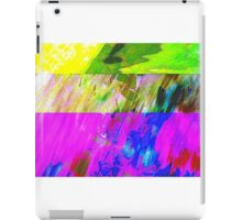 You've Got To Fight For Your Right To Abstract! iPad Case/Skin