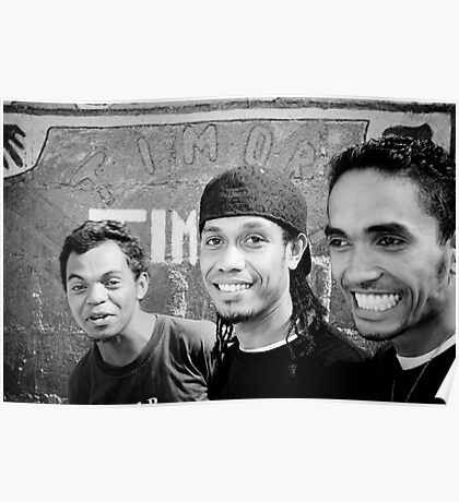 Arco Iris Band - Timor-Leste 2008 Poster