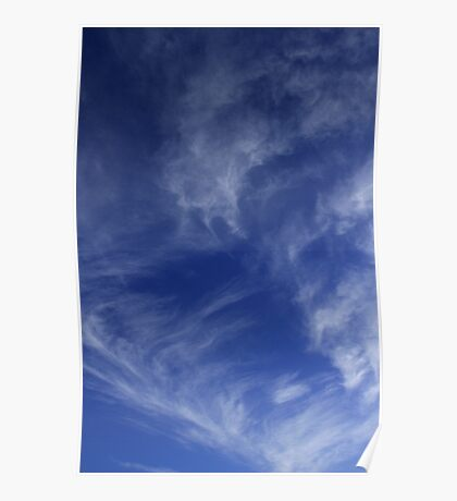 Mares Tails Poster