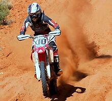 Bike X10 - Finke 2011 Day 2 by Centralian Images
