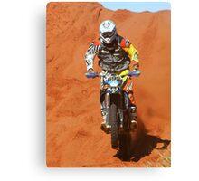 Bike 695 - Finke 2011 Day 2 Canvas Print