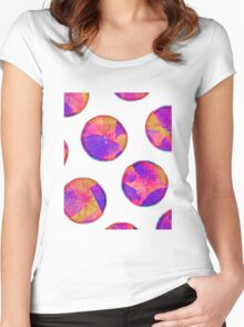 The Kinetic Path #redbubble Women's Fitted Scoop T-Shirt