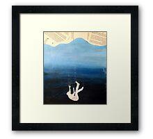 Into the Ocean Framed Print