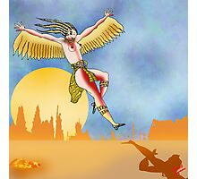 Angel of the Plains Landing. Photographic Print