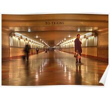 To Trains Poster