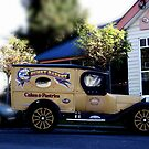 Old Bakery Truck. by waxyfrog
