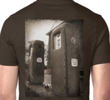 Leaded, Tintype style photography sepia Unisex T-Shirt