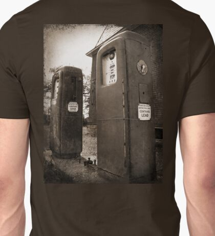 Leaded, Tintype style photography sepia Unisex T-Shirt